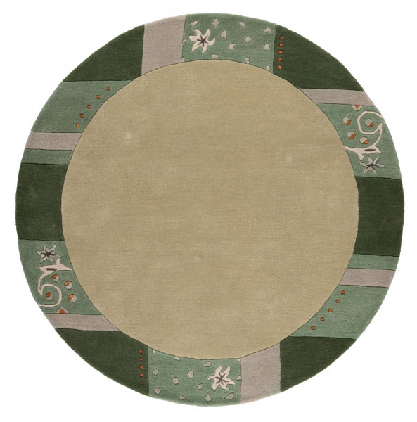 Teppich aus 95% Wolle / 5% Viscose; handgetuftet   THEKO die markenteppiche - Royal Ganges