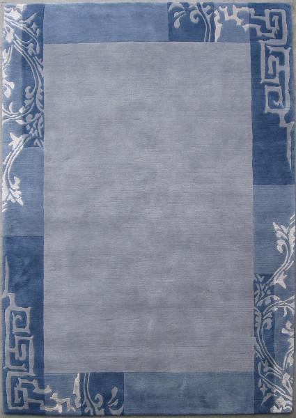 Teppich aus 100% Schurwolle (IWS); handgeknüpft | THEKO die markenteppiche - GURKHA