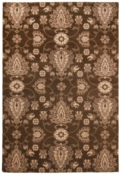 Teppich aus 80% Schurwolle / 20% Polyamid; maschinell gewebt | Theko die markenteppiche - TIMELESS