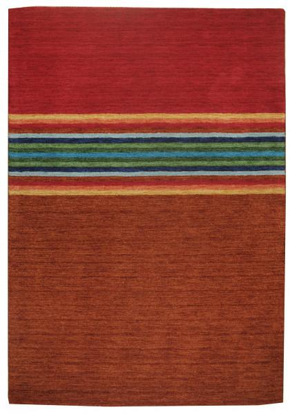 Teppich aus 100% Schurwolle (IWS); handgetuftet | THEKO die markenteppiche - FARBENFREUND