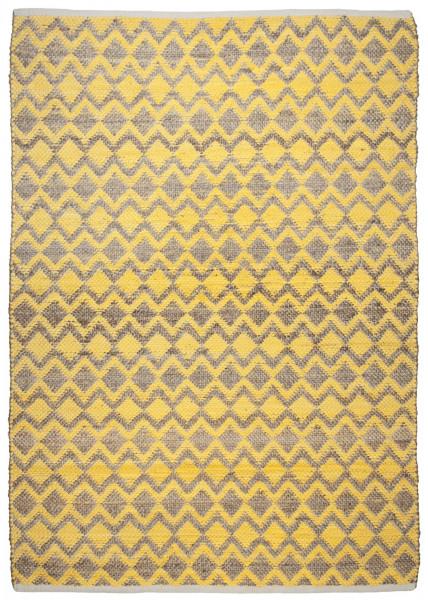 Teppich aus 60% Baumwolle + 40% Jute; handgewebt | Tom Tailor - Smooth Comfort