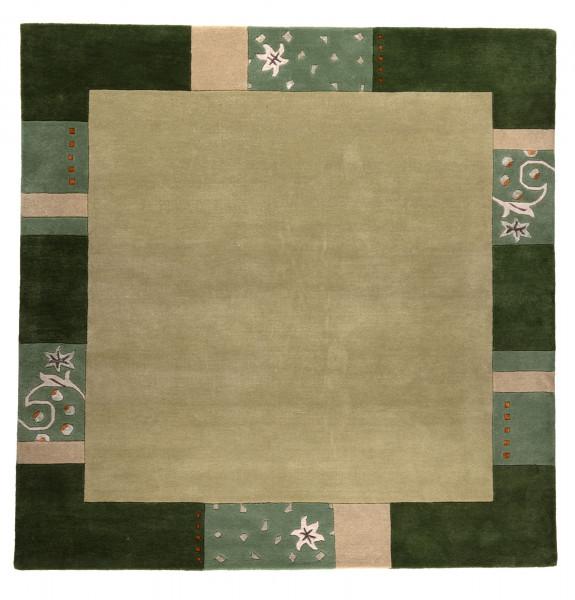 Teppich aus 95% Wolle / 5% Viscose; handgetuftet | THEKO die markenteppiche - Royal Ganges
